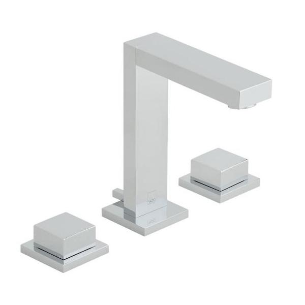 Vado Notion Slimline Deck Mounted Chrome 3 Hole Basin Mixer-0