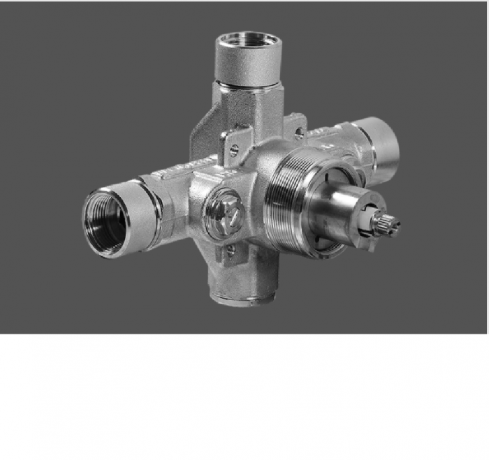Graff Immersion Polished Chrome 3/4 Concealed Thermostatic Valve Rough