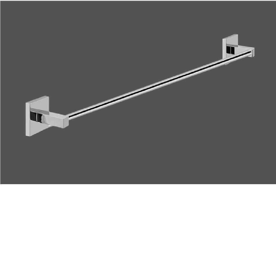 Graff Immersion Polished Chrome Towel Bar 60.9cm
