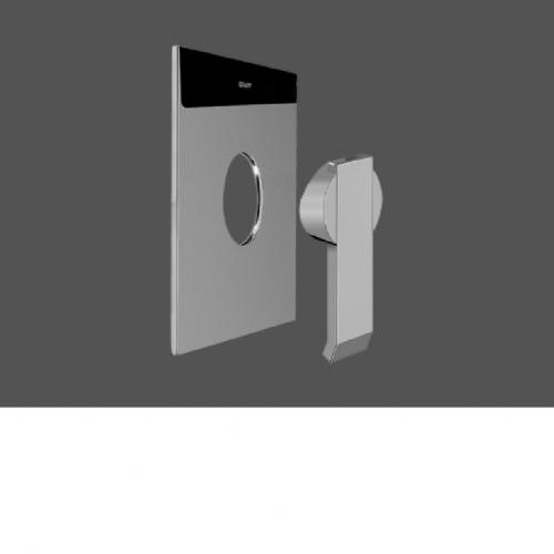 Graff Qubic Polished Chrome Concealed Shower Mixer