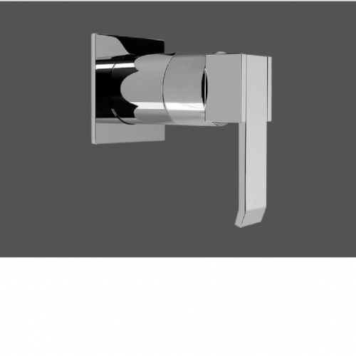 """Graff Qubic Polished Chrome 3/4"""" Concealed Cut Off Valve - Exposed Parts"""