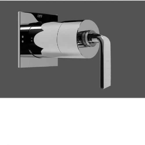 """Graff Immersion Polished Chrome 1/2"""" Concealed Diverter with 2 Outlets - Exposed Parts"""