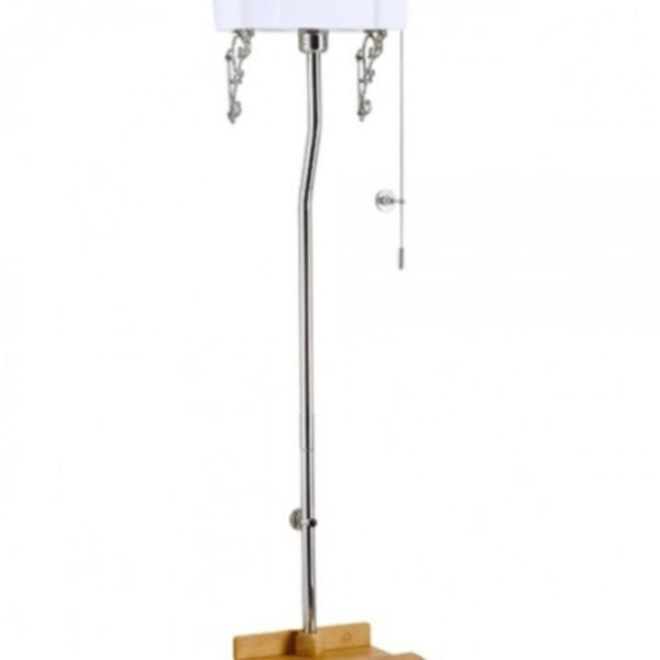 STOCK Burlington High Level Flush Pipe Kit T30CHR-0