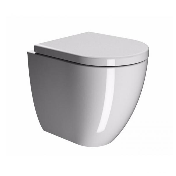 GSI Pura 50 Back To Wall WC Pan and Soft Closing Seat-0