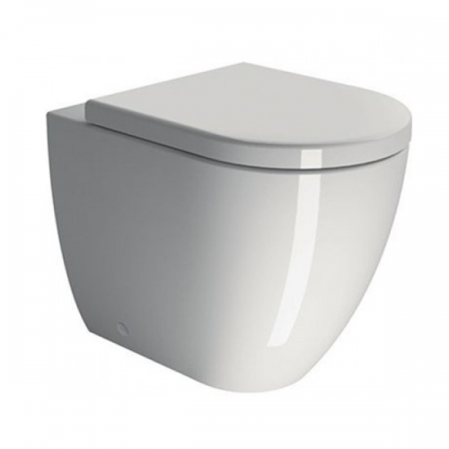 GSI Pura 55 Back To Wall WC Pan And Soft Closing Seat-0