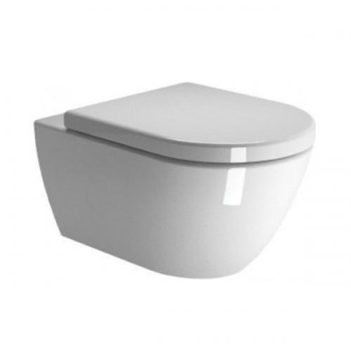 GSI Pura 50 Wall Hung WC Pan and Soft Closing Seat-0