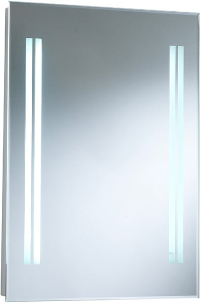 STOCK 50 x 70cm Illuminated Hudson Reed Adriana Mirror LQ348-0