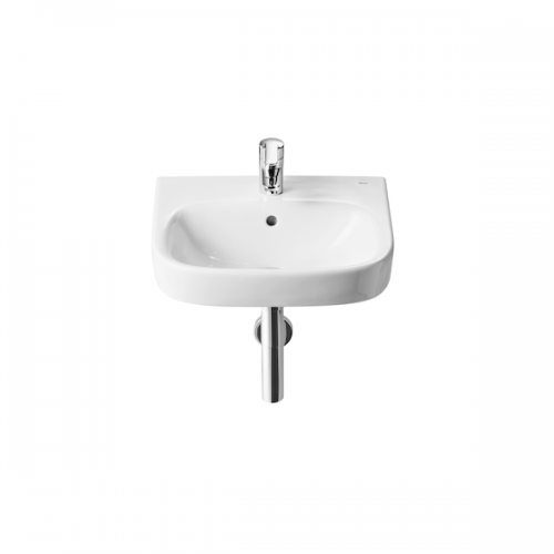 Roca Debba 400mm Wall Hung Only 1 Tap Hole Cloakroom Basin-0