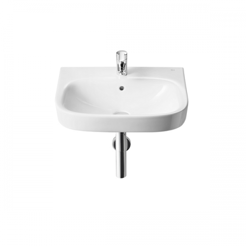 Roca Debba 500 x 420mm Wall Mounted 1 Tap Hole Basin-0