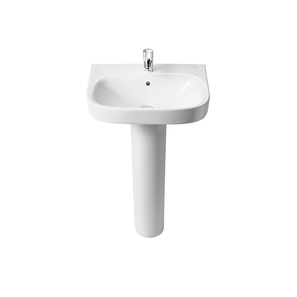 Roca Debba 500 x 420mm Wall Mounted 1 Tap Hole Basin-18119