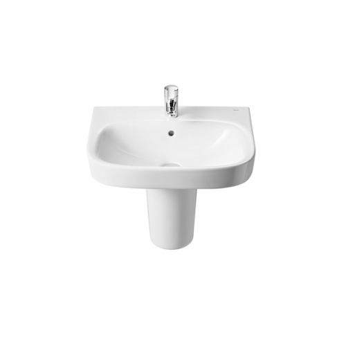Roca Debba 500 x 420mm Wall Mounted 1 Tap Hole Basin-18120