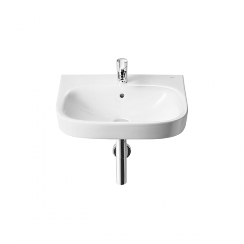Roca Debba 550 x 440mm Wall Mounted 1 Tap Hole Basin-0
