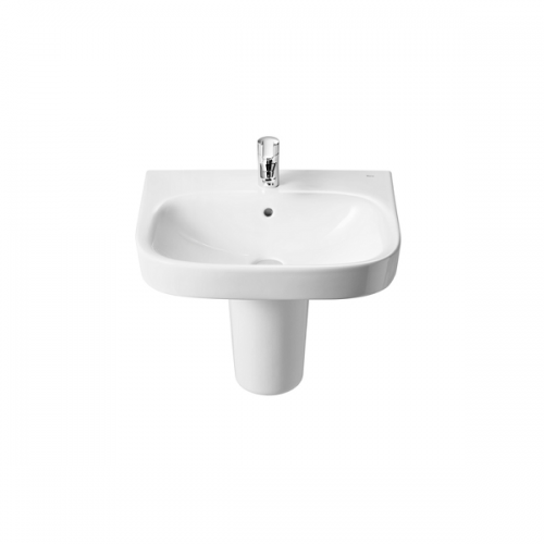 Roca Debba 550 x 440mm Wall Mounted 1 Tap Hole Basin-18108