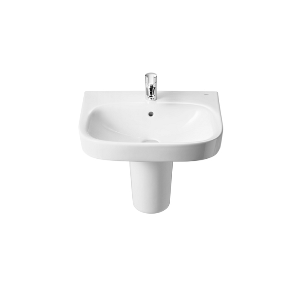 Roca Debba 600 x 480mm Wall Mounted 1 Tap Hole Basin-18098