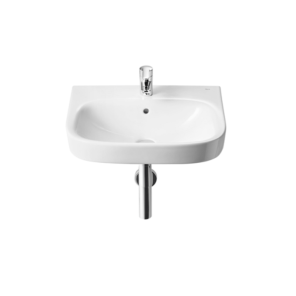 Roca Debba 650 x 480mm Wall Mounted 1 Tap Hole Basin-0