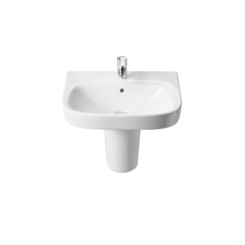 Roca Debba 650 x 480mm Wall Mounted 1 Tap Hole Basin-18087