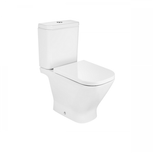 Roca Gap Close Coupled Open Back WC And Standard Seat-0