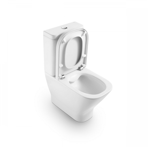 Roca Gap Rimless 600mm Pan and Soft Closing Seat-17431