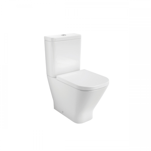 Roca Gap Rimless 600mm Pan and Soft Closing Seat-0
