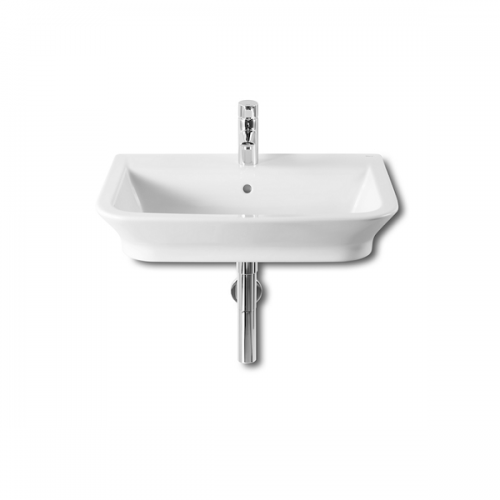 Roca Gap Wall Hung 650 x 470mm 1 Tap Hole Basin-0