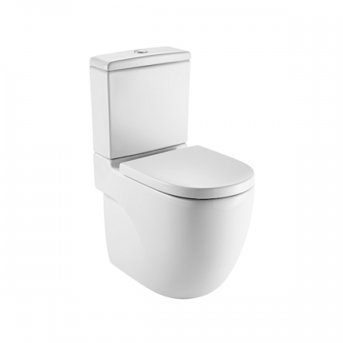Roca Meridian-N Comfort Height 610mm Close Coupled Toilet-0
