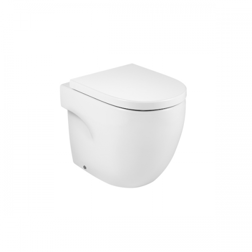Roca Meridian-N Comfort Height Back to Wall Pan and Seat-0
