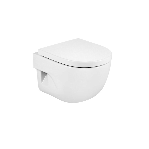 Roca Meridian-N Compact 480mm Projection Wall Hung Pan-0