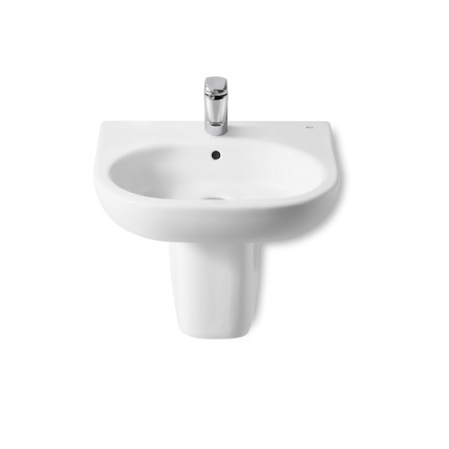 Roca Meridian-N 550x460mm 1 Tap Hole Wall Mounted Basin-17867