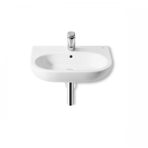 Roca Meridian-N 600x460mm 1 Tap Hole Wall Mounted Basin-0