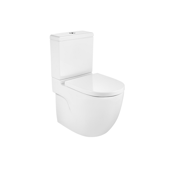 Roca Meridian-N Compact 600mm Complete Close Coupled Pan-0
