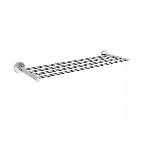 Roca Twin Wall Mounted Chrome 613x200mm Towel Rack-0