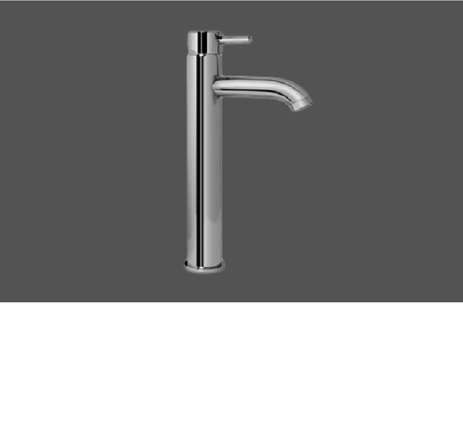 Graff ME Polished Chrome Single Lever Tall Basin Mixer