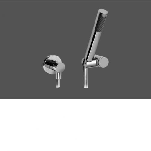 Graff ME25 Polished Chrome Deck Mounted Hand Shower - Set