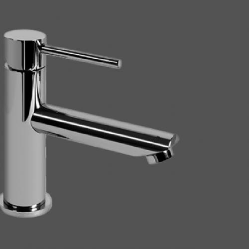 Graff ME25 Polished Chrome Single Lever Basin Mixer 12cm Spout