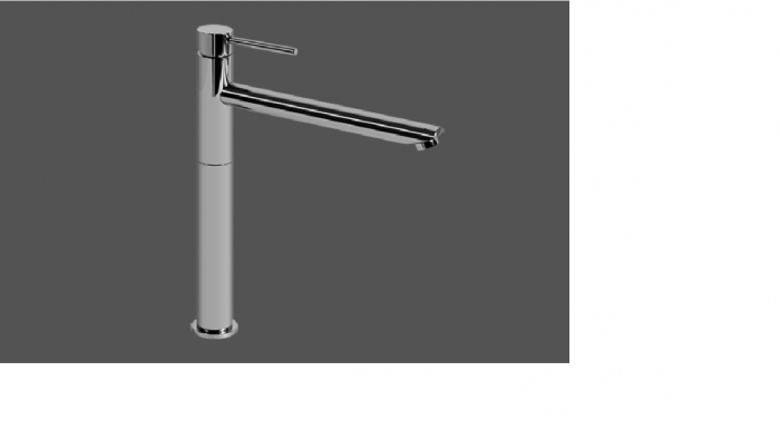 Graff ME25 Polished Chrome Single Lever Tall Basin Mixer 21cm Spout
