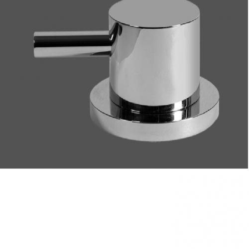 Graff ME25 Polished Chrome Deck Mounted Bathtub Valve - Counter Clockwise Opening