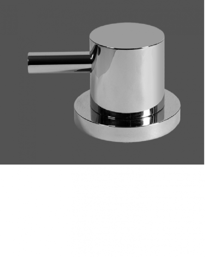 Graff ME25 Polished Chrome Deck Mounted Bathtub Valve - Counter Clockwise Opening