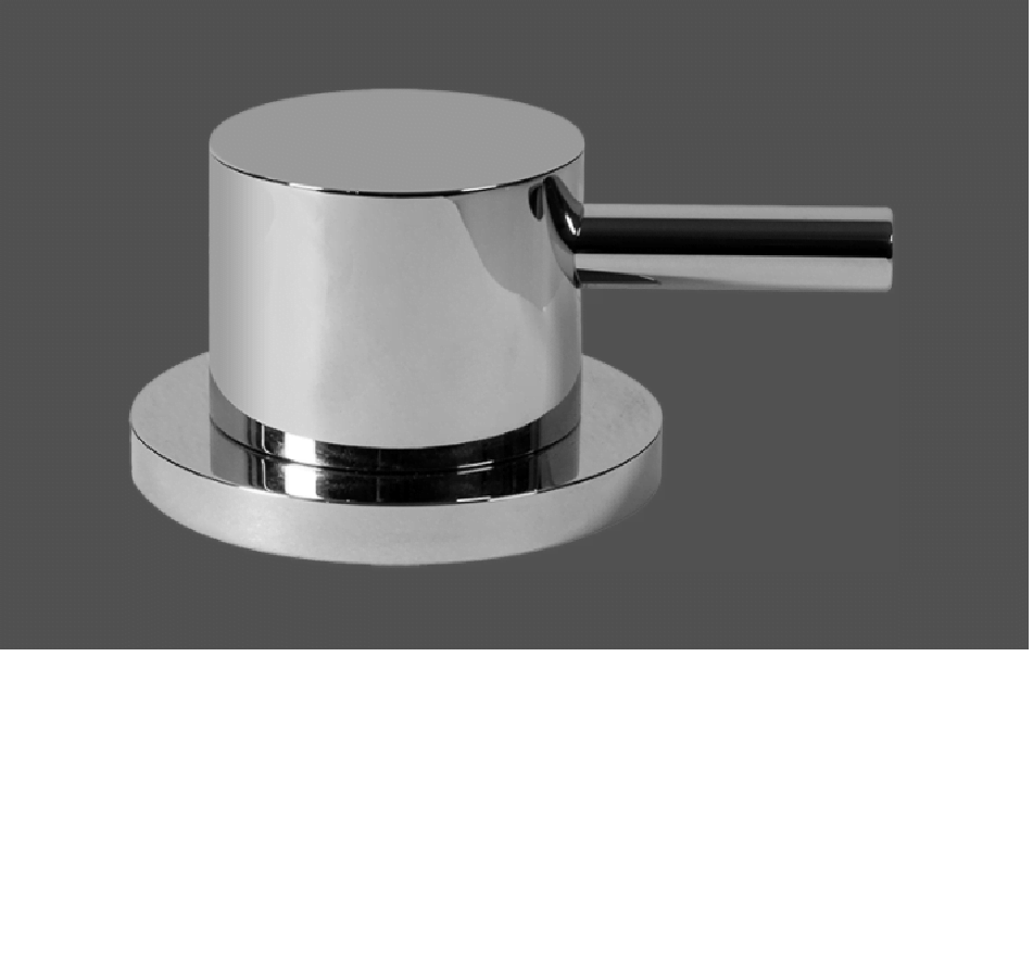 Graff ME25 Polished Chrome Deck Mounted Bathtub Diverter