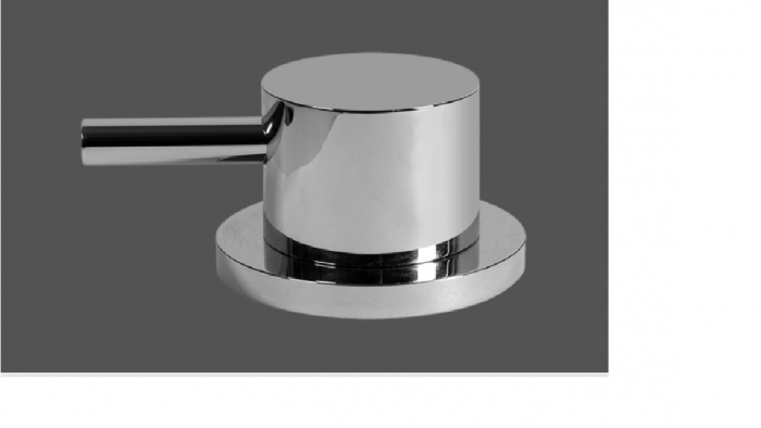 Graff ME25 Polished Chrome Deck Mounted Basin Valve - Counter Clockwise Opening
