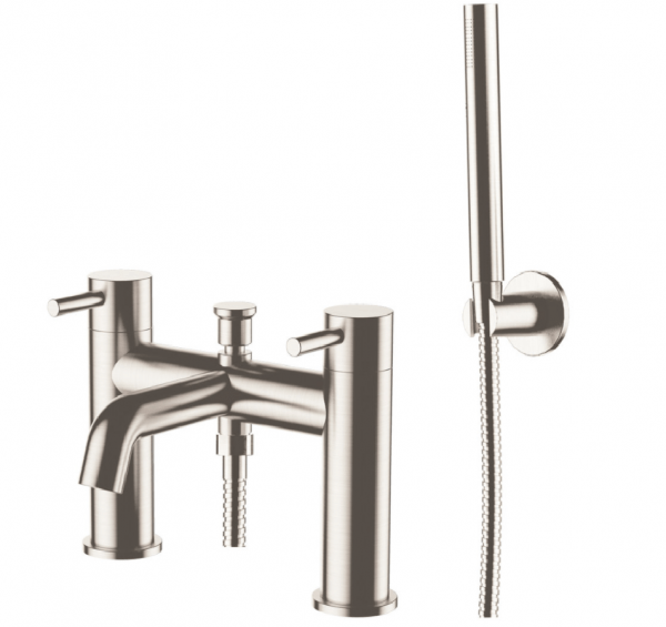 Just Taps Plus Inox IX275 Stainless Steel Bath Shower Mixer
