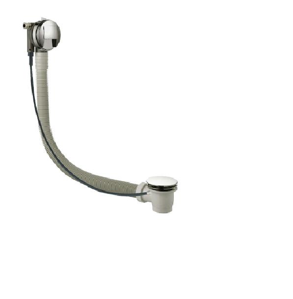 Just Taps Inox IX809A7 Stainless Steel Slim 60cm Bath Filler