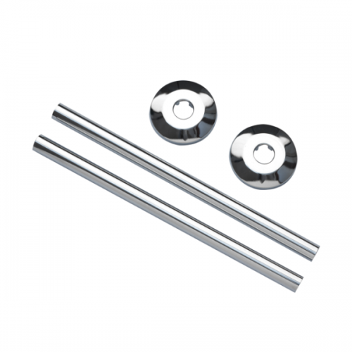 Buy Online JIS Chrome Plated Pipe Kits For Towel Rails ACPK-0