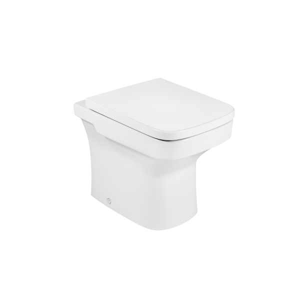Roca Dama-N 520mm Projection Back To Wall Pan And Seat-0