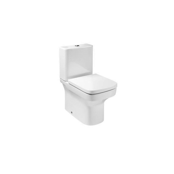 Roca Dama-N Compact 600mm Projection Close Coupled Toilet-0