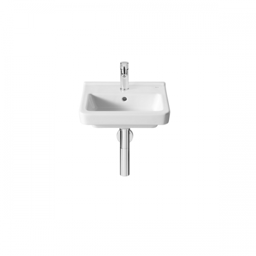Roca Dama-N Compact 400x320mm 1 Tap Hole Wall Mounted Basin-0