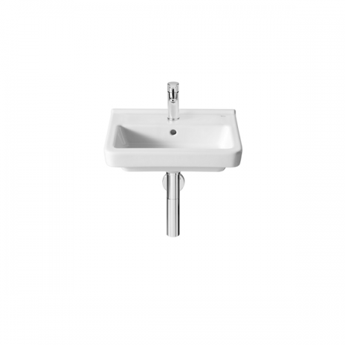 Roca Dama-N Compact 450x320mm 1 Tap Hole Wall Mounted Basin-0