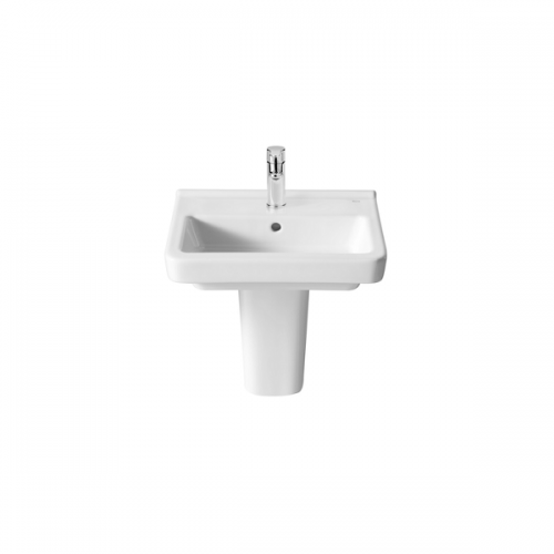 Roca Dama-N Compact 450x320mm 1 Tap Hole Wall Mounted Basin-18401