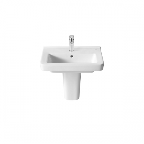 Roca Dama-N Compact 500x320mm 1 Tap Hole Wall Mounted Basin-18395