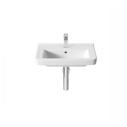Roca Dama-N Compact 550x320mm 1 Tap Hole Wall Mounted Basin-0