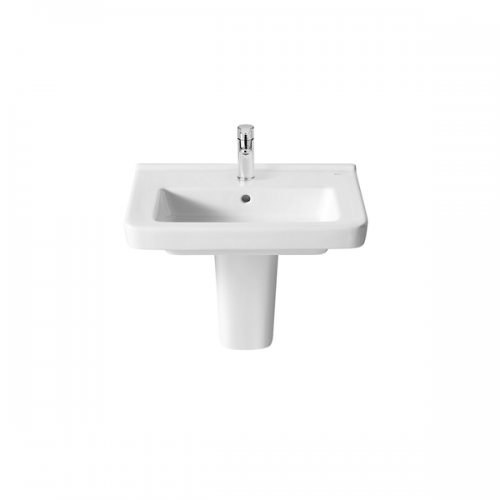 Roca Dama-N Compact 550x320mm 1 Tap Hole Wall Mounted Basin-18385
